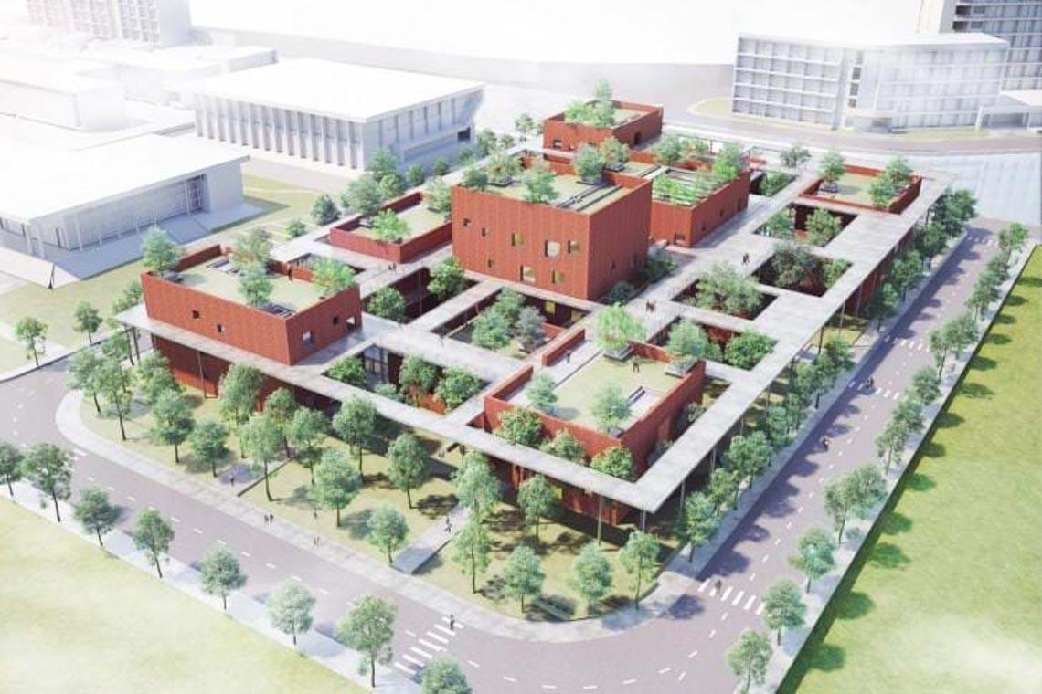 Công trình kiến trúc nhiều cây xanh của Việt Nam thắng lớn ở Dezeen Awards -20