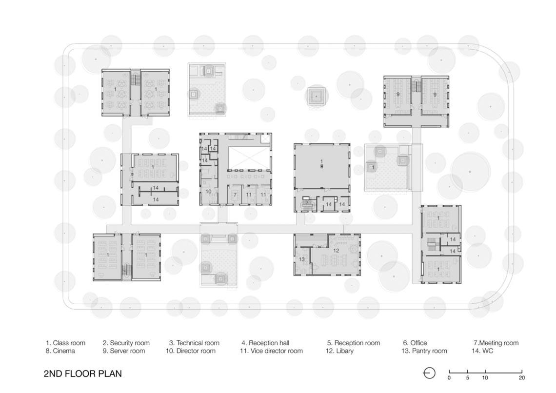 Công trình kiến trúc nhiều cây xanh của Việt Nam thắng lớn ở Dezeen Awards -21
