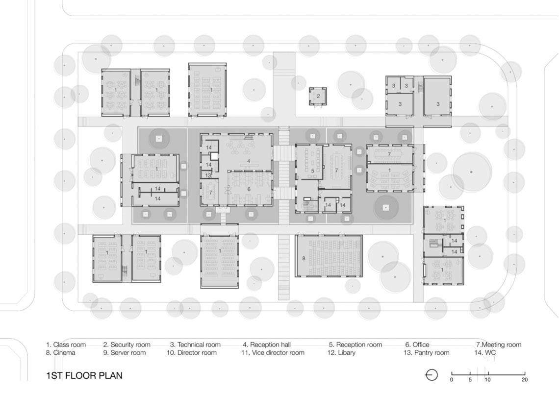 Công trình kiến trúc nhiều cây xanh của Việt Nam thắng lớn ở Dezeen Awards -23