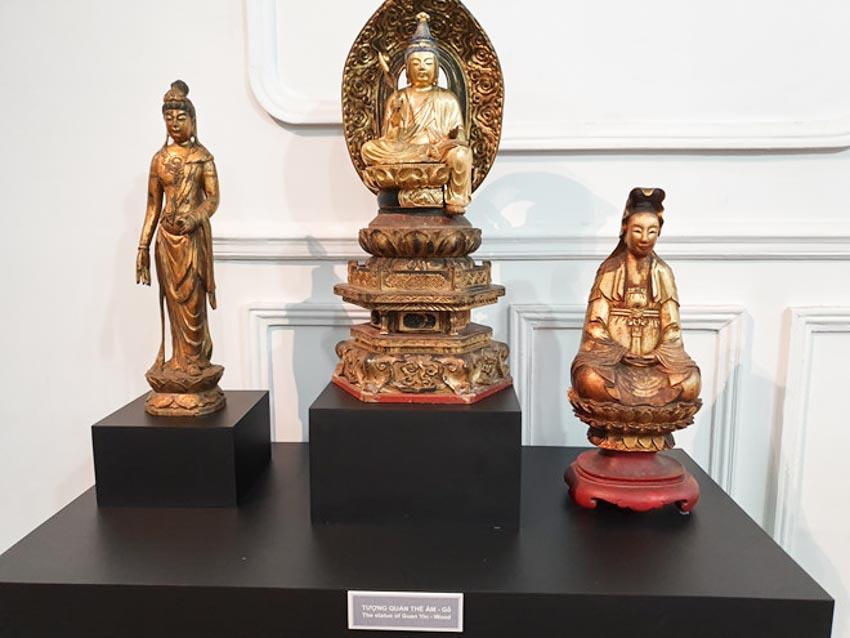 Độc đáo những pho tượng Phật cổ quý hiếm của Việt Nam, Thái Lan, Trung Quốc, Myanmar-12
