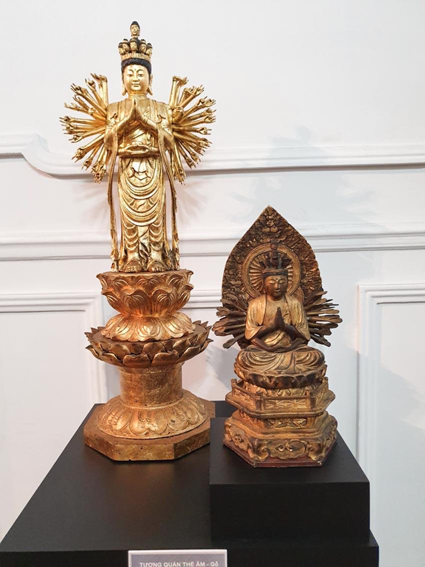 Độc đáo những pho tượng Phật cổ quý hiếm của Việt Nam, Thái Lan, Trung Quốc, Myanmar-15