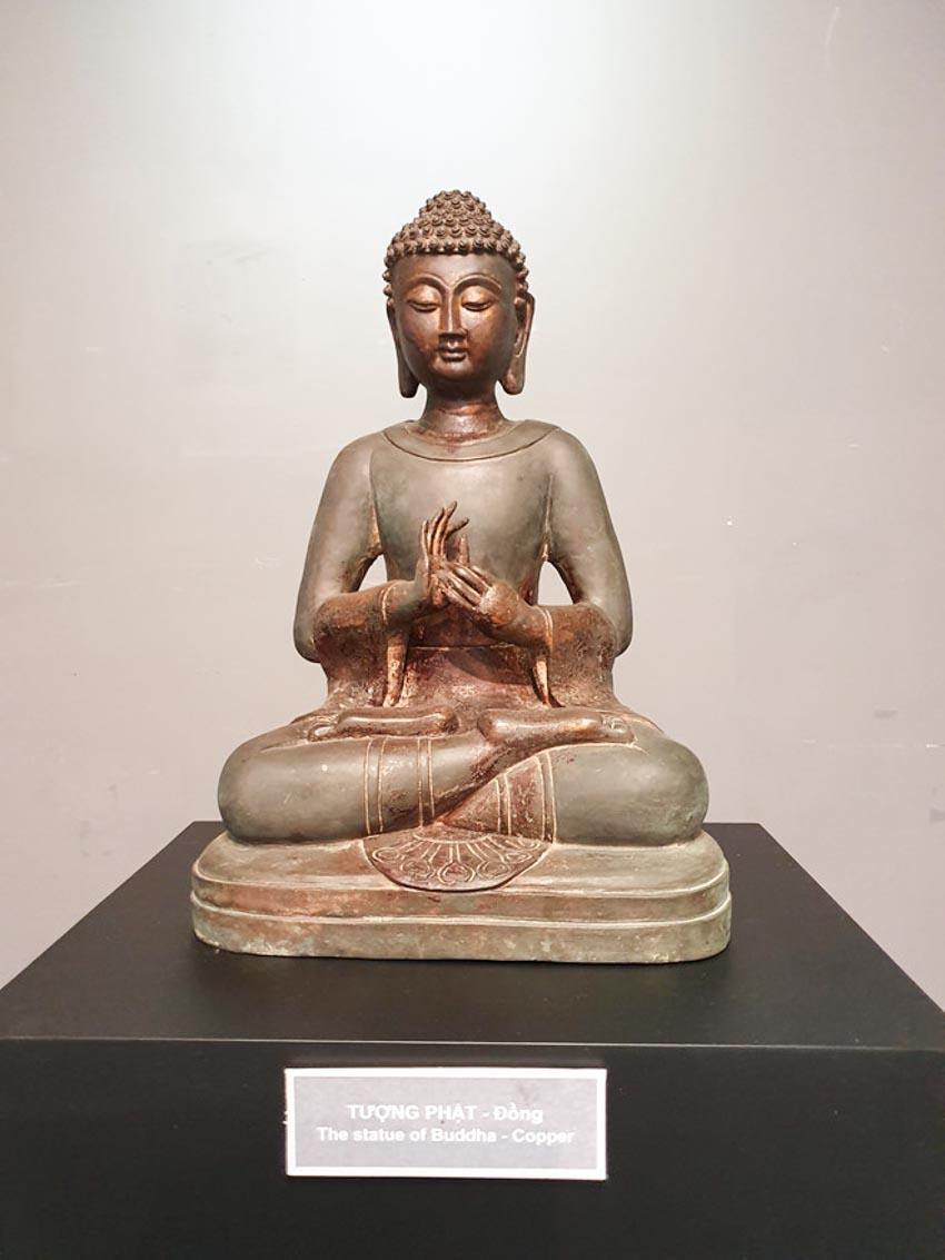 Độc đáo những pho tượng Phật cổ quý hiếm của Việt Nam, Thái Lan, Trung Quốc, Myanmar-2