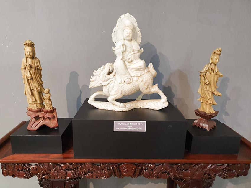 Độc đáo những pho tượng Phật cổ quý hiếm của Việt Nam, Thái Lan, Trung Quốc, Myanmar-6