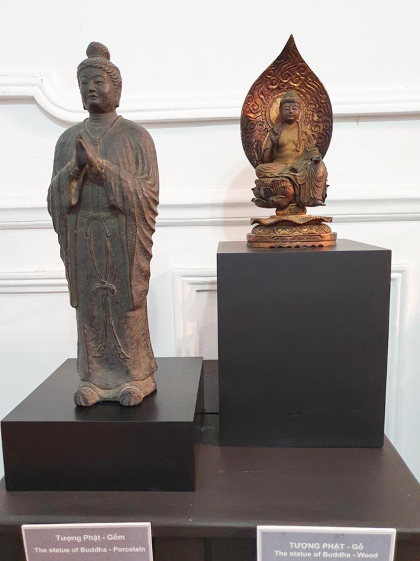 Độc đáo những pho tượng Phật cổ quý hiếm của Việt Nam, Thái Lan, Trung Quốc, Myanmar-7