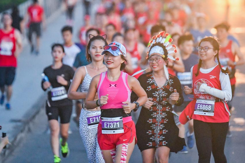 Giải Marathon Quốc tế TP. Hồ Chí Minh Techcombank 2019 -13