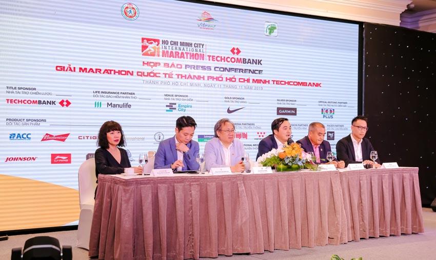 Giải Marathon Quốc tế TP. Hồ Chí Minh Techcombank 2019 -2