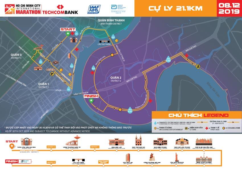 Giải Marathon Quốc tế TP. Hồ Chí Minh Techcombank 2019 -5