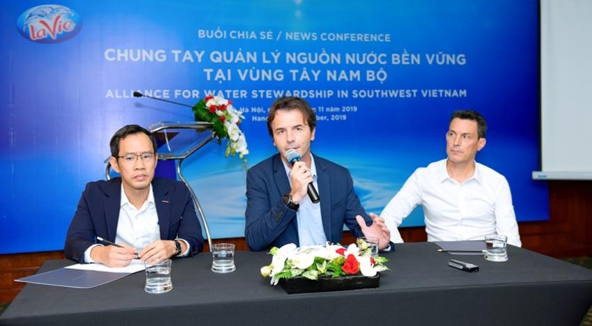 """Hội thảo """"Chung tay quản lý nguồn nước bền vững tại vùng Tây Nam Bộ"""" -3"""