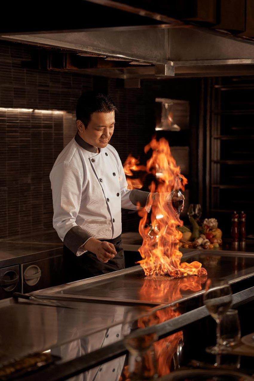 Khai trương Ibuki - Nhà hàng Teppanyaki thuần Nhật đầu tiên tại TP.HCM -1