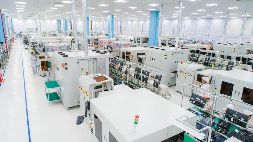 Khánh thành tổ hợp nhà máy sản xuất thiết bị điện tử thông minh Vinsmart giai đoạn 1 -2