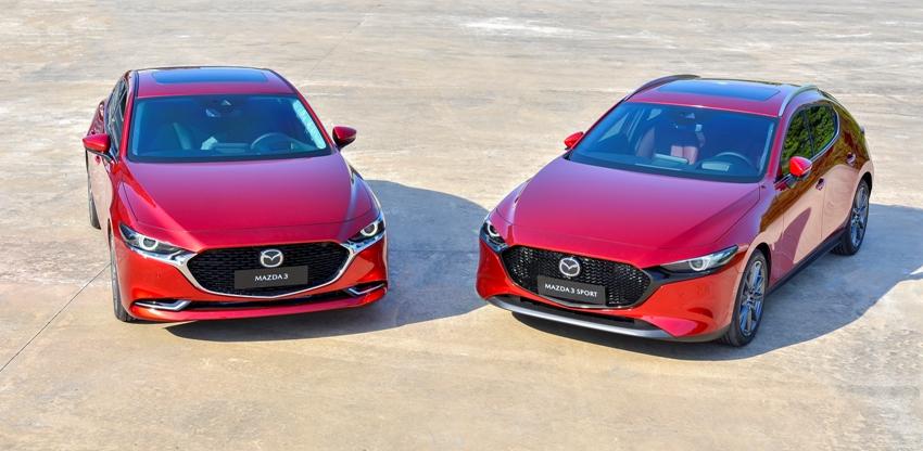 bộ đôi Mazda 3 và Mazda3 Sport mới