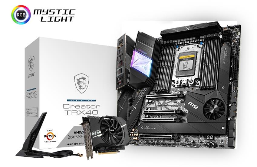 MSI ra mắt bo mạch chủ MSI AMD TRX40 hoàn toàn mới-1