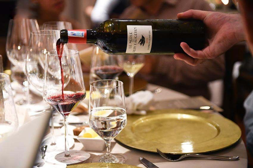 Nhà sưu tập rượu vang Nguyễn Mỹ Giáng Hương-5 a