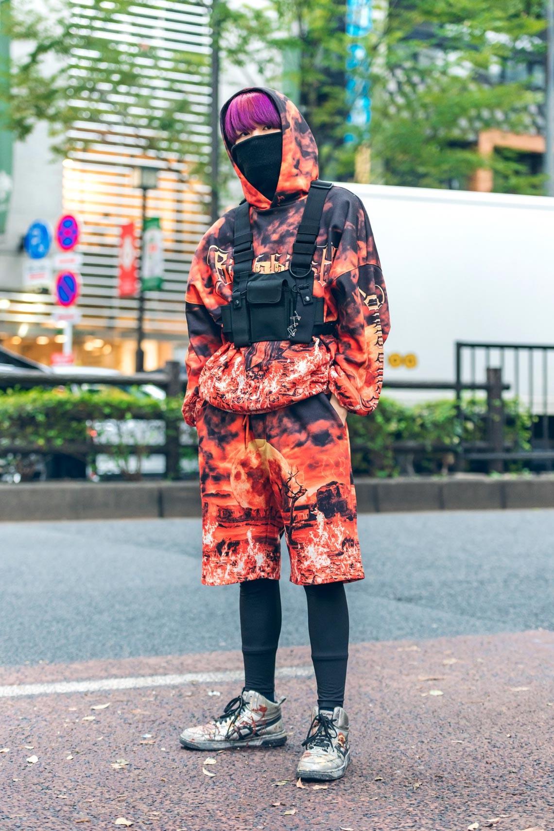 Phong cách Tuần lễ thời trang Tokyo: trang phục cho ngày tận thế-1