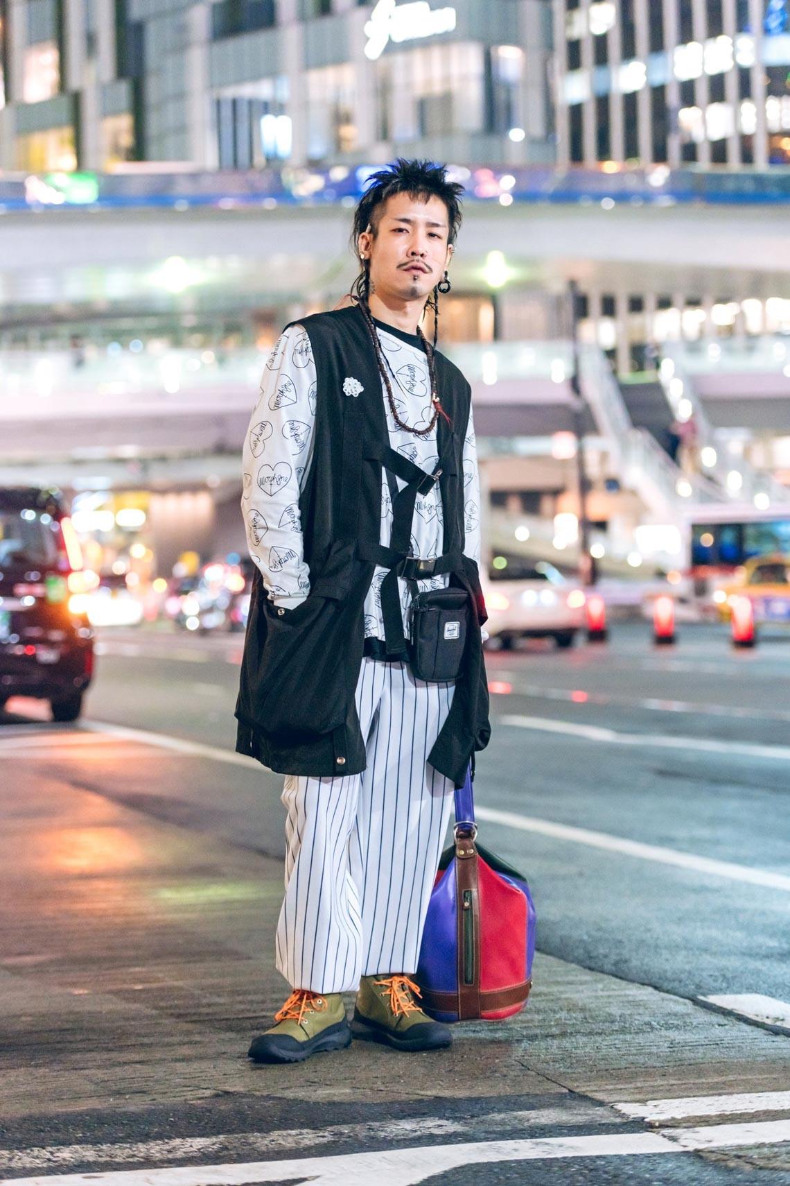 Phong cách Tuần lễ thời trang Tokyo: trang phục cho ngày tận thế-7