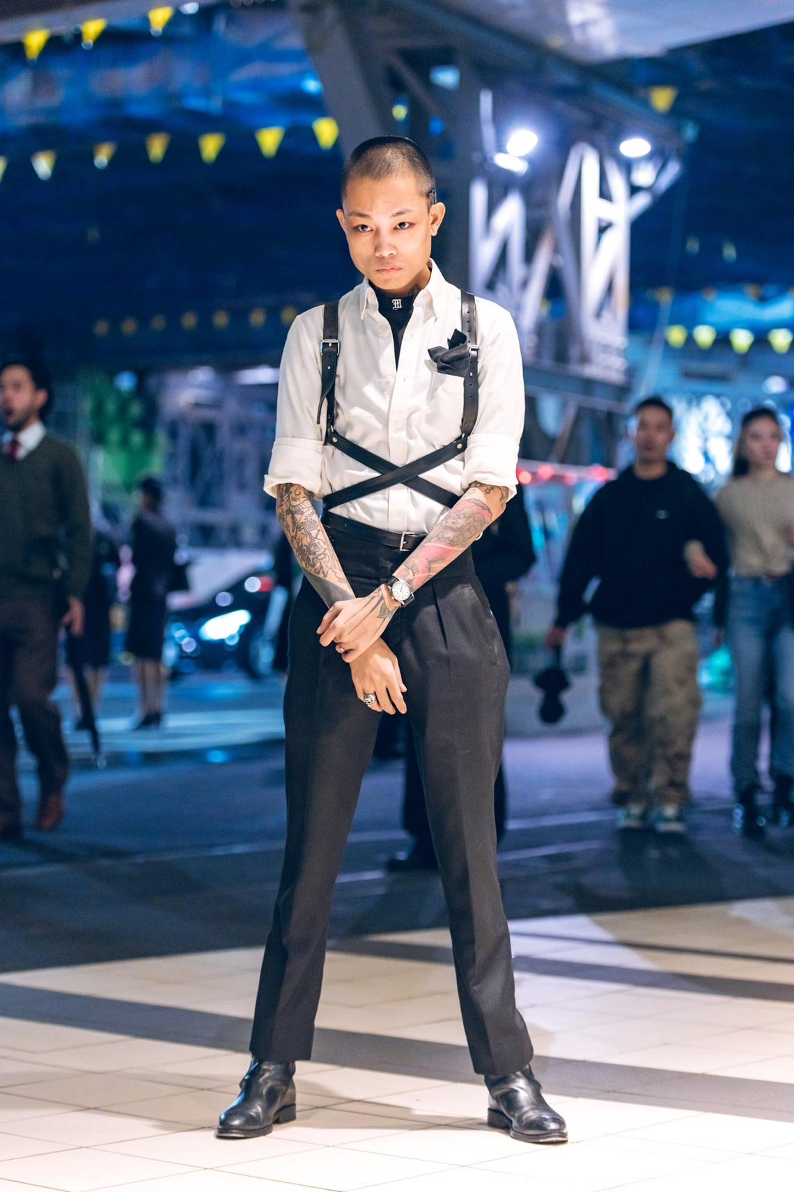 Phong cách Tuần lễ thời trang Tokyo: trang phục cho ngày tận thế-8