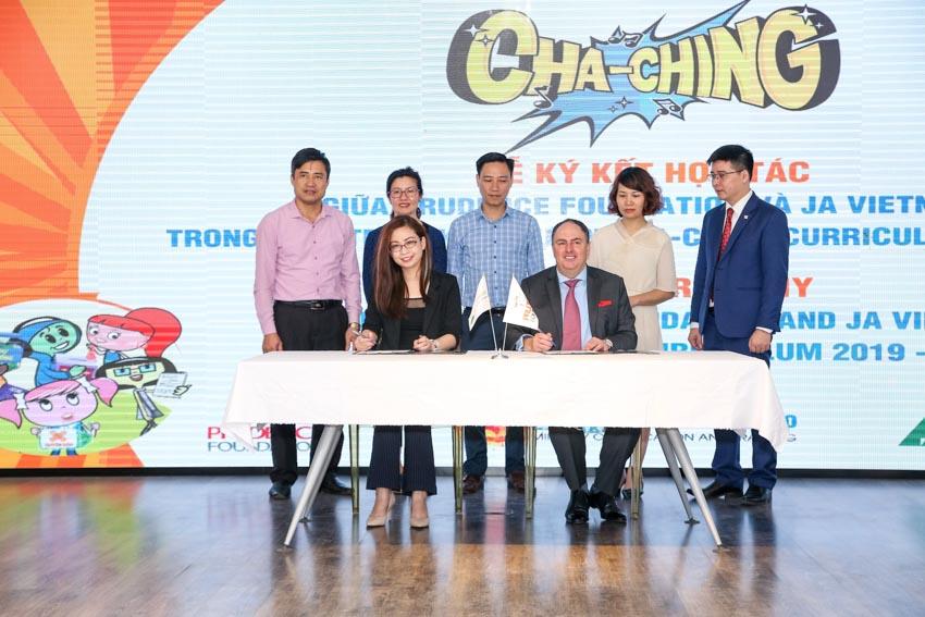 Quỹ Prudence và JA Việt Nam triển khai Giáo trình quản lý tài chính tại các trường Tiểu học -4