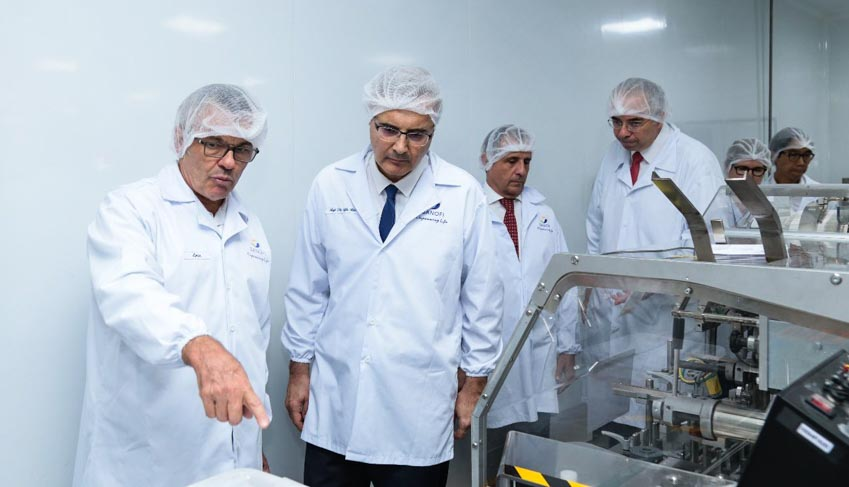 Tân đại sứ Pháp đến thăm nhà máy Sanofi tại SHTP -5