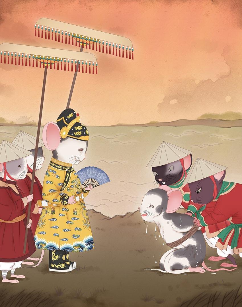 Tạo hình chuột độc đáo trong bộ lịch mừng năm mới 2020-6