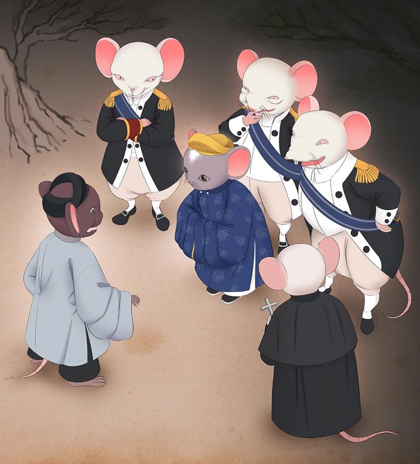 Tạo hình chuột độc đáo trong bộ lịch mừng năm mới 2020-7