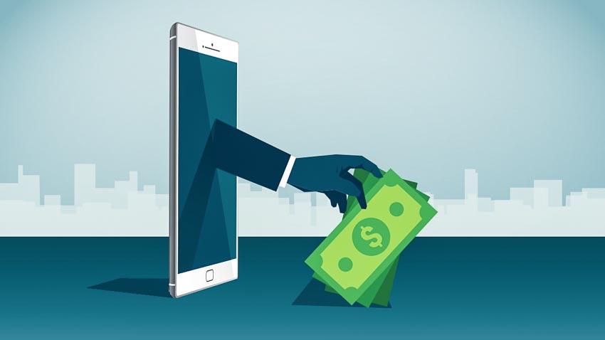 Thận trọng với vay tiền online-1