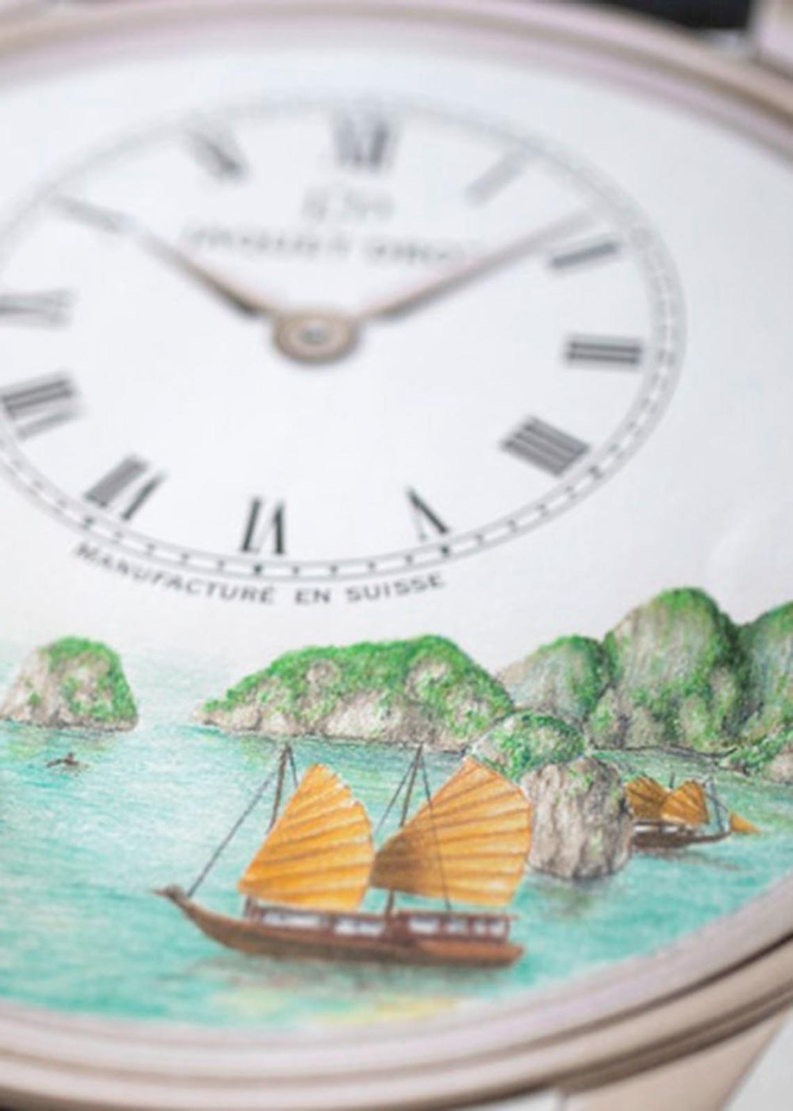 Vịnh Hạ Long xuất hiện trong thiết kế độc bản Petite Heure Minute của Jaquet Droz-5