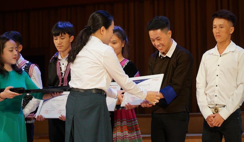 Toyota trao học bổng cho các tài năng trẻ âm nhạc Việt Nam năm 2019-2