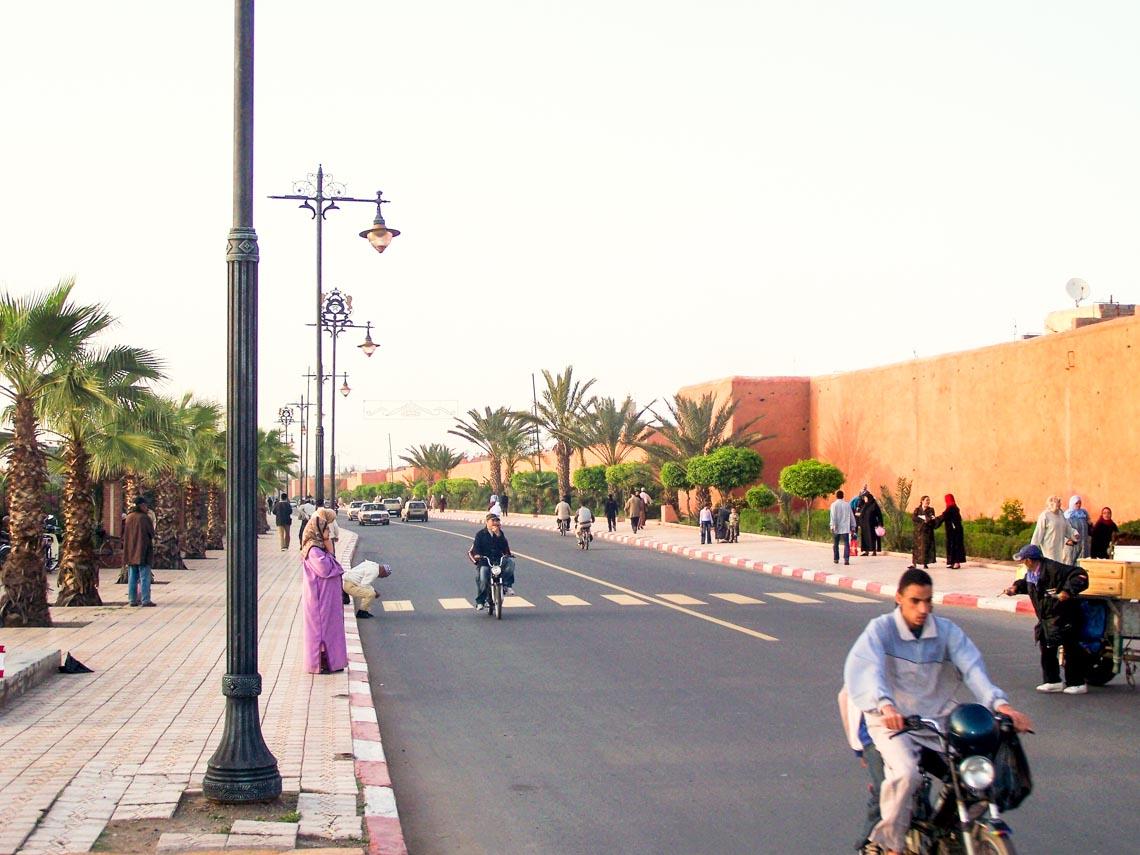 Trầm mặc phố cổ Morocco-1