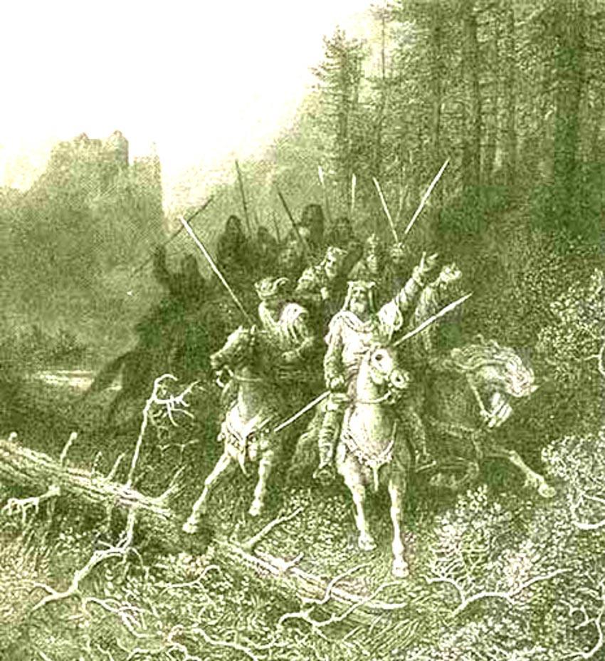 Vua Arthur và các hiệp sĩ Bàn Tròn -2