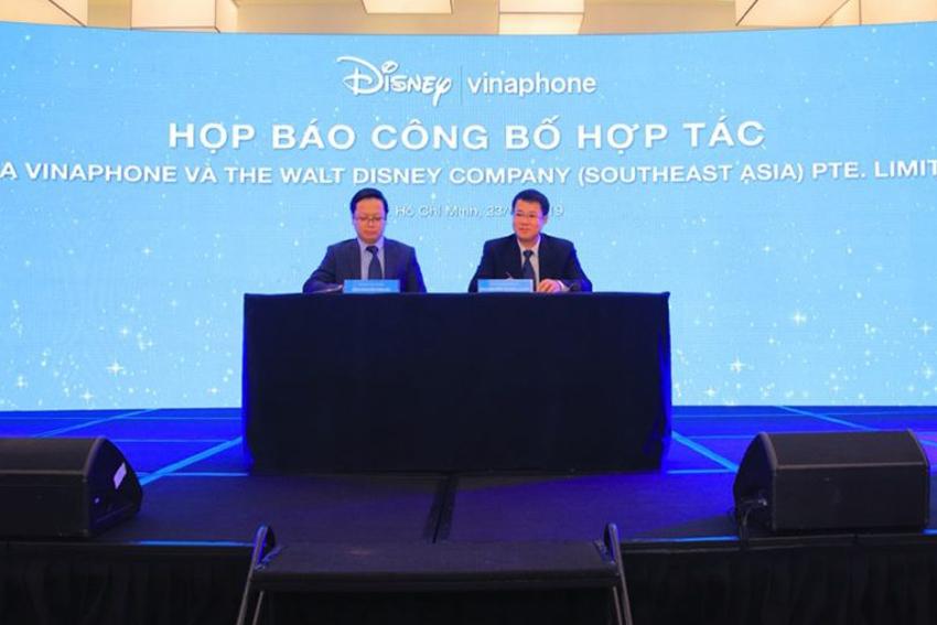 Vinaphone ký kết hợp tác với Walt Disney - 1