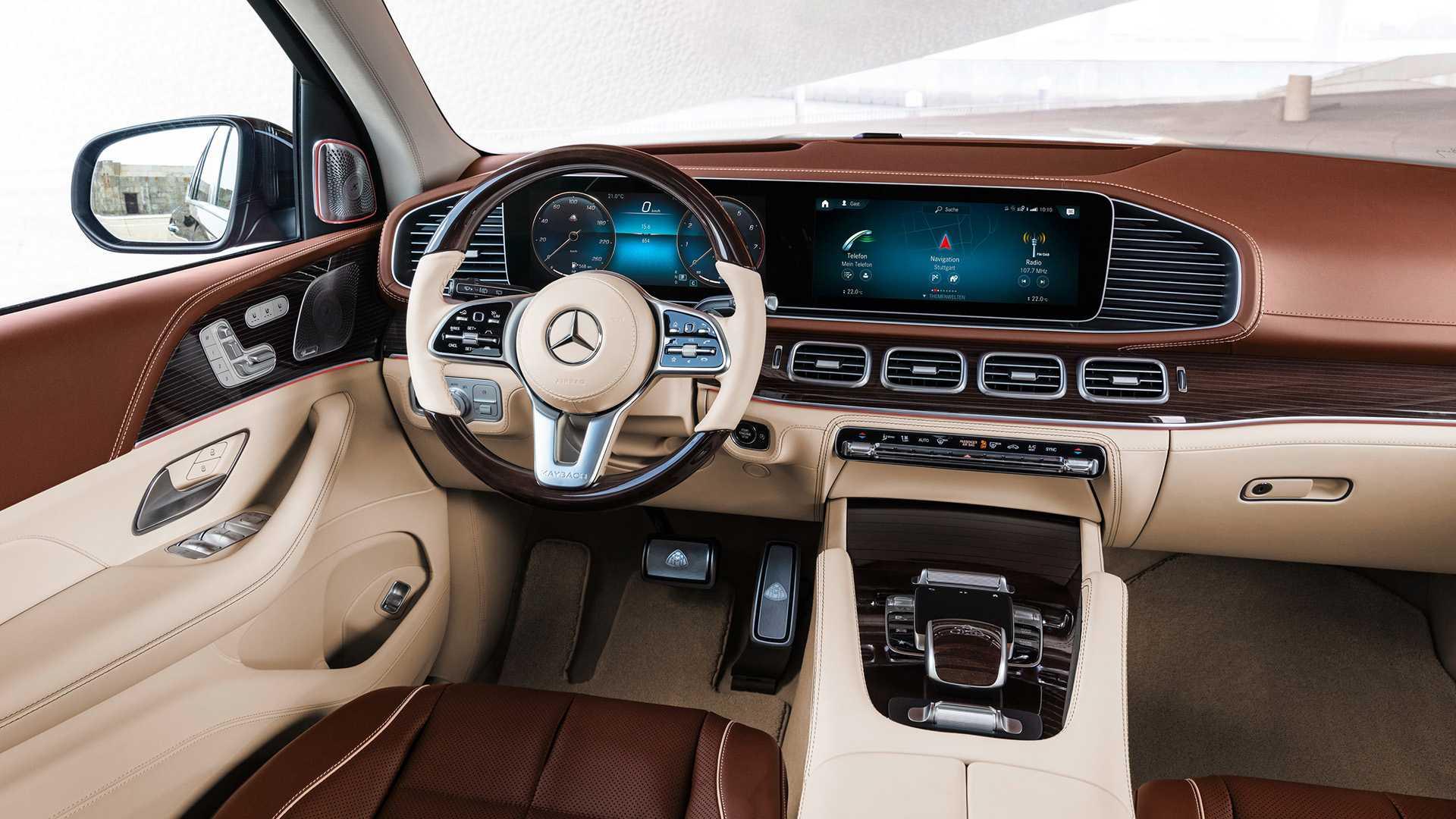 SUV siêu sang Mercedes-Maybach GLS 2020 - 18