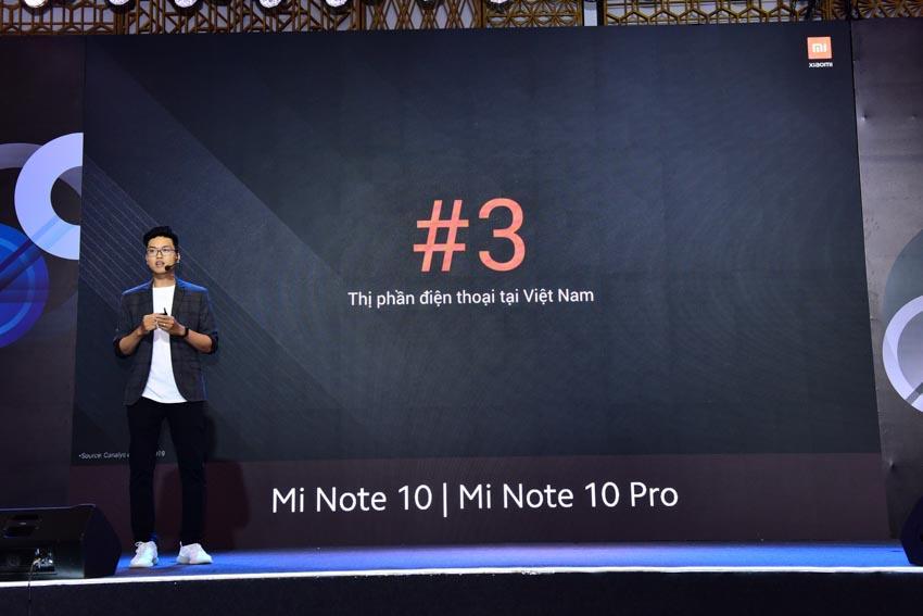 Xiaomi mang điện thoại cao cấp mới nhất Mi Note 10 đến Việt Nam - 1