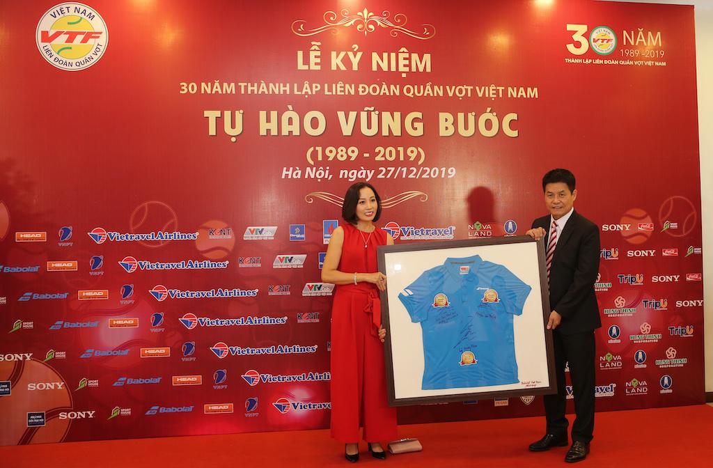 Vietravel Airlines tài trợ cho Liên đoàn Quần vợt Việt Nam - 5