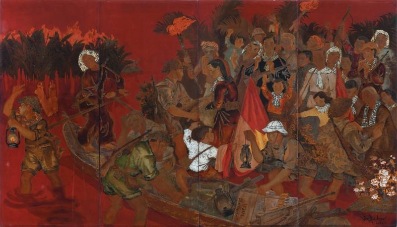 Hồng Kông sẽ trưng bày 25 tác phẩm hiếm thấy của hoạ sĩ Việt Nam - 4