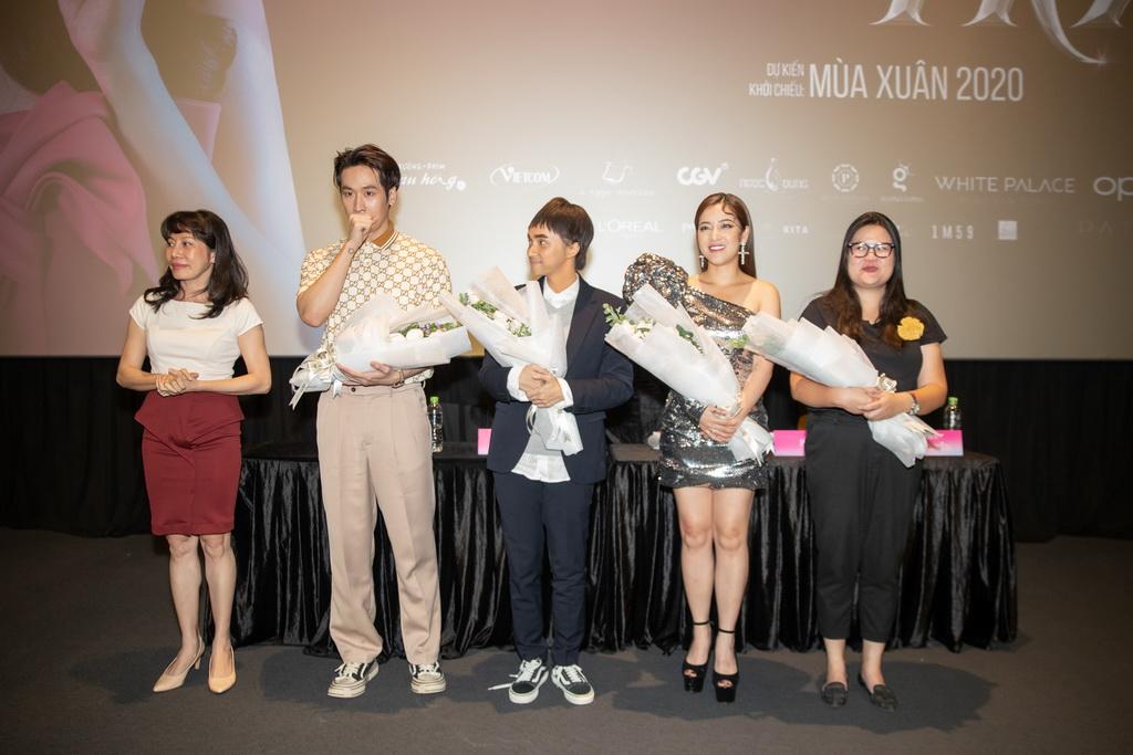 Hương Giang, Tuấn Trần lần đầu đóng phim