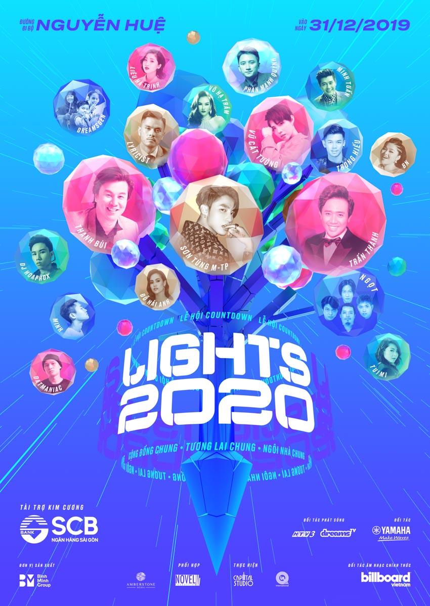 Lễ hội ánh sáng Countdown Lights 2020 trên đường đi bộ Nguyễn Huệ - 1