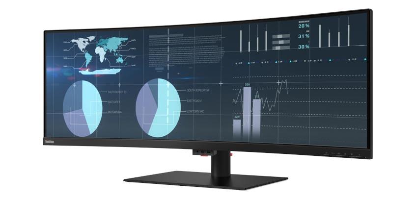 Lenovo giới thiệu loạt màn hình ThinkVision mới dành cho doanh nghiệp - 4