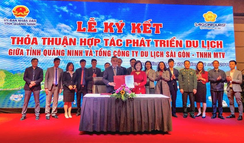 Saigontourist hợp tác với tỉnh Quảng Ninh thúc đẩy phát triển du lịch -2