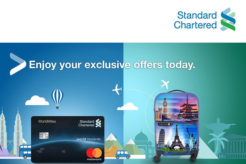Standard Chartered giới thiệu chương trình ưu đãi cho chủ thẻ tín dụng mùa cuối năm - 1