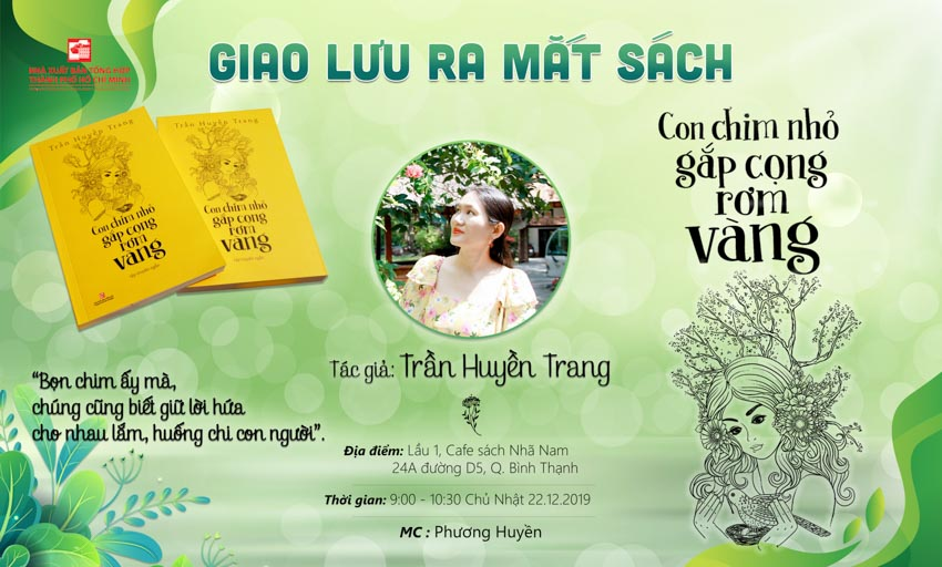 Talkshow Giữ lửa yêu thương trong từng trang viết tại buổi ra mắt sách của nhà văn Trần Huyền Trang - 2