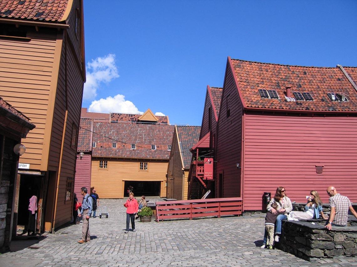 Bergen - thành phố mưa bay -2
