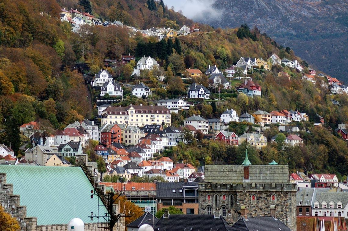 Bergen - thành phố mưa bay -3