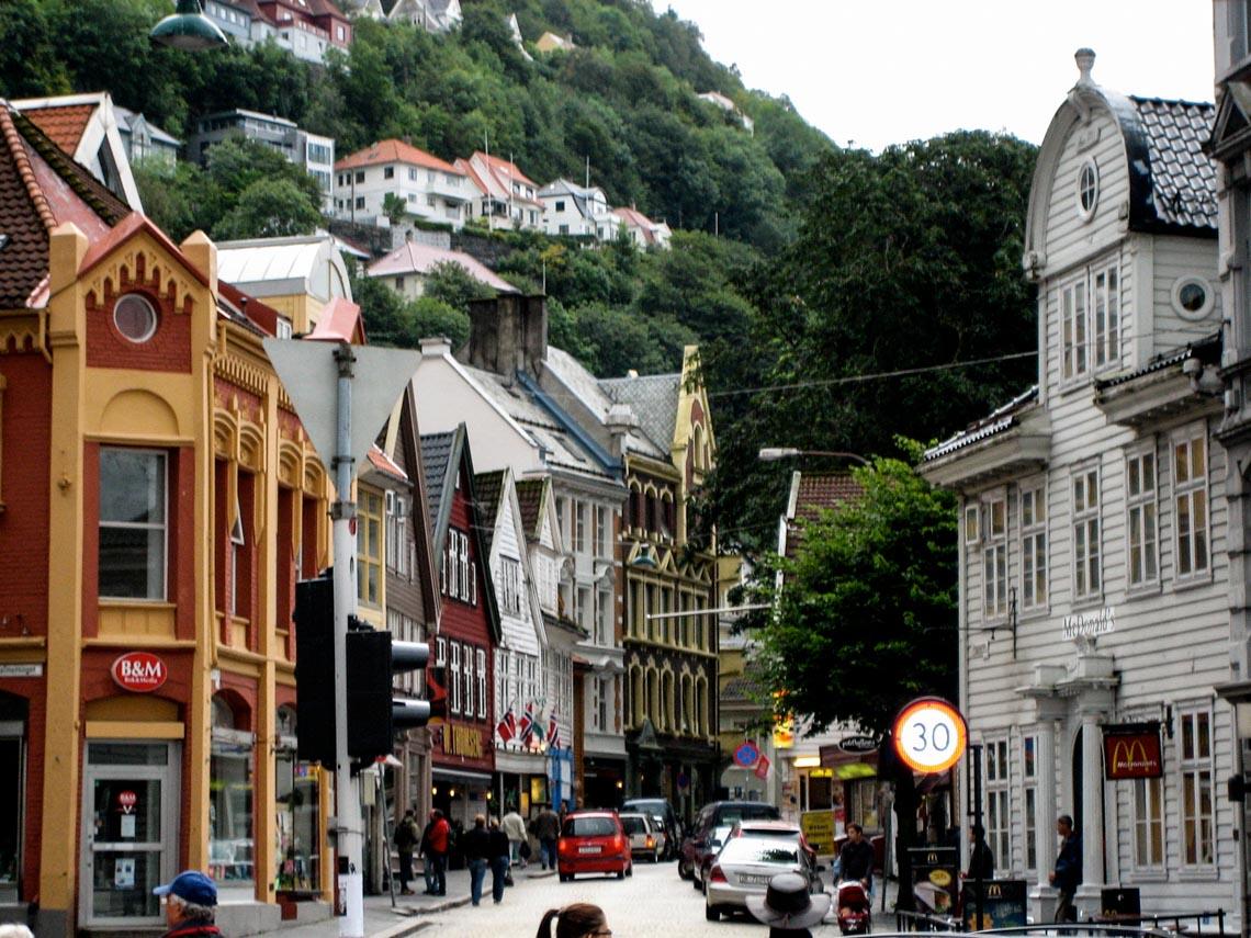 Bergen - thành phố mưa bay -5