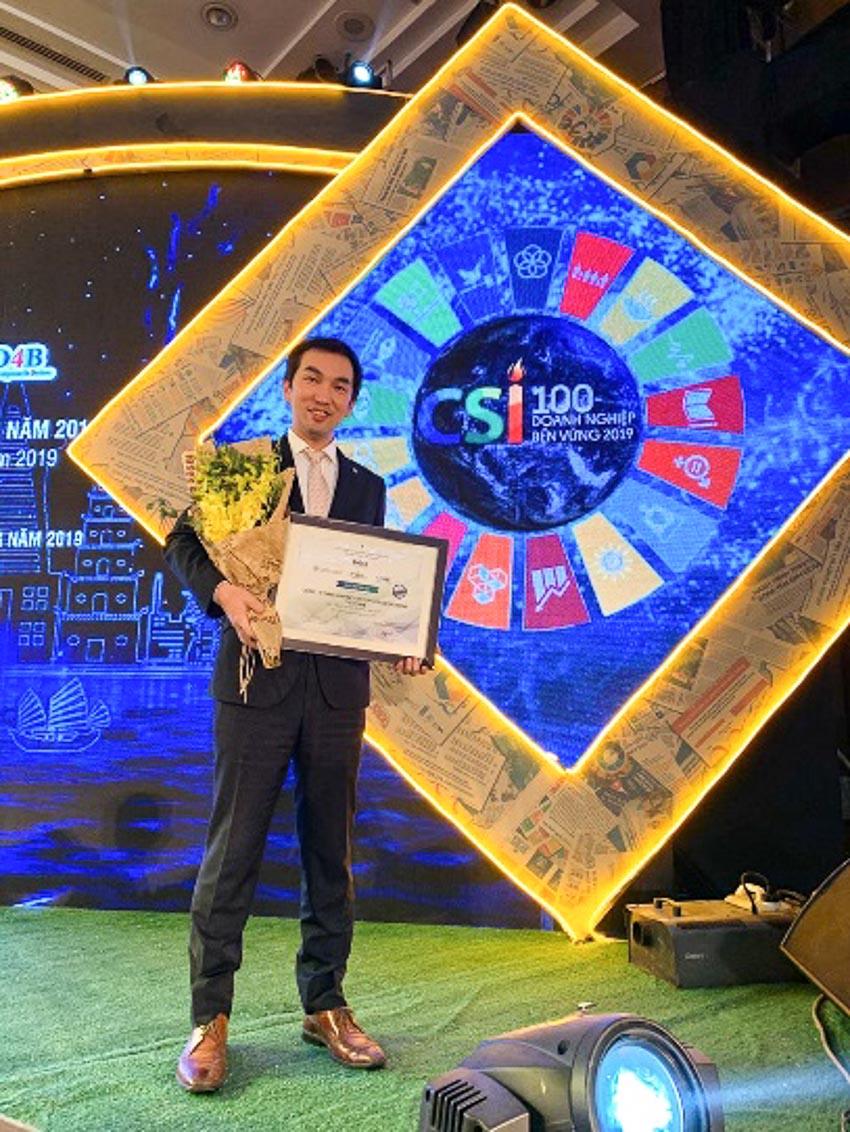 Bridgestone Việt Nam được công nhận Top 100 doanh nghiệp phát triển bền vững 2019-1