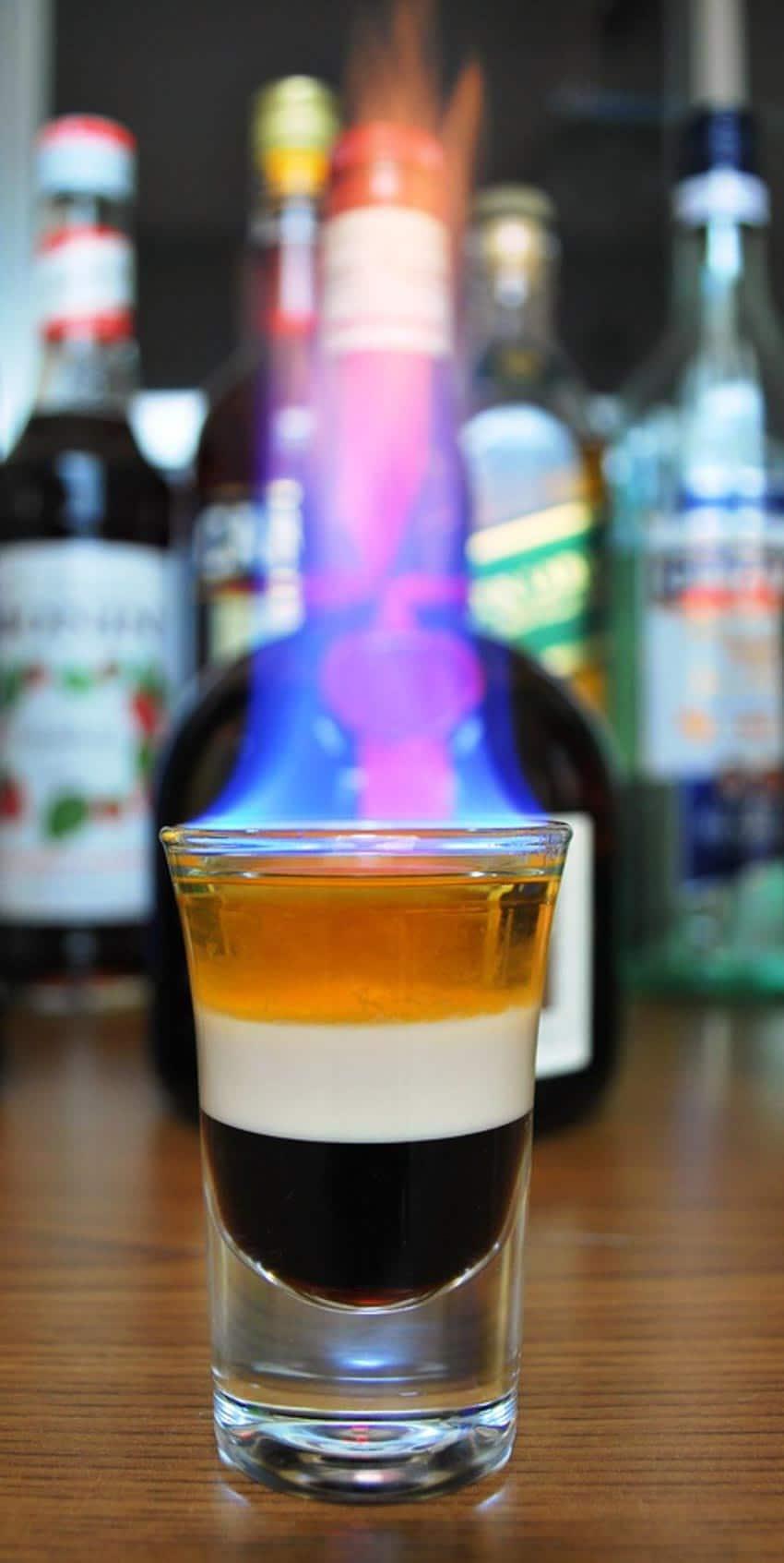 Đốt rượu - Tạo hứng khởi bằng lửa -5