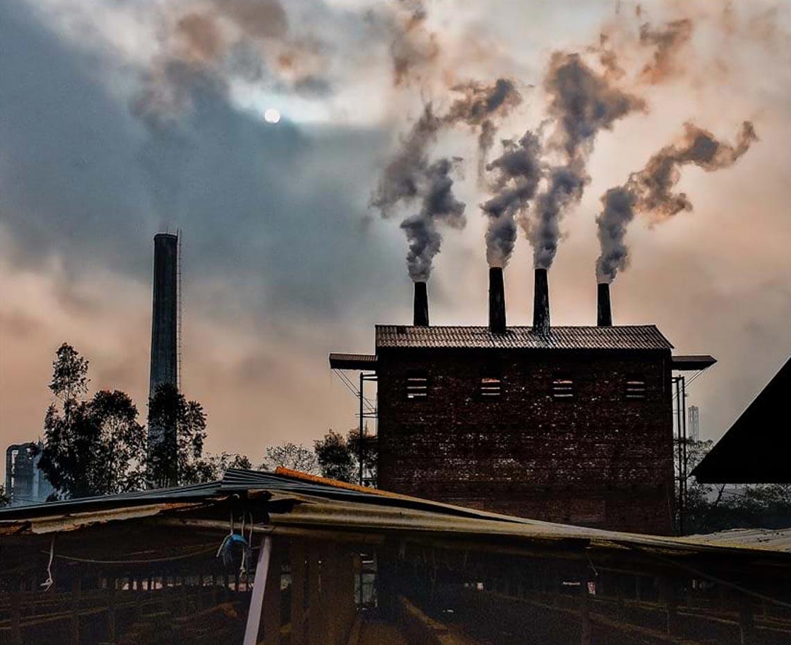 Giật mình khi xem bộ ảnh 'Bắt nét không khí, phơi màu ô nhiễm' - 5