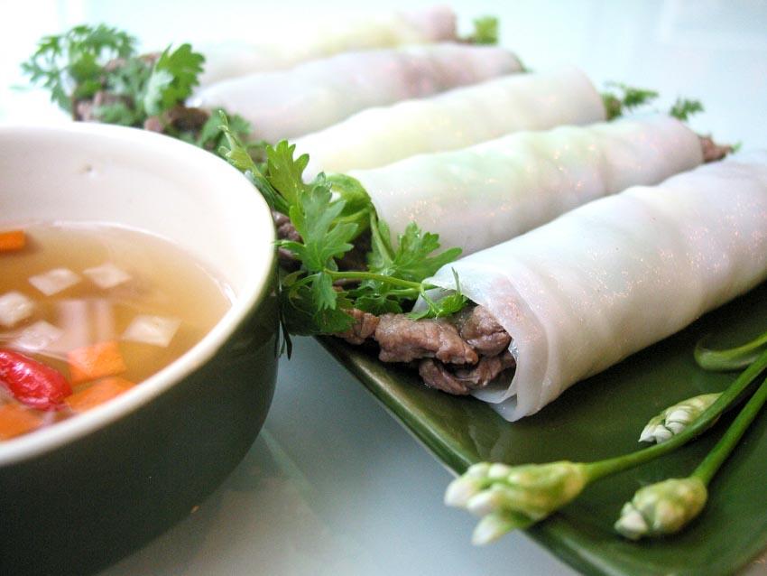 Món gỏi cuốn Việt Nam - cuốn mùa hè - 1
