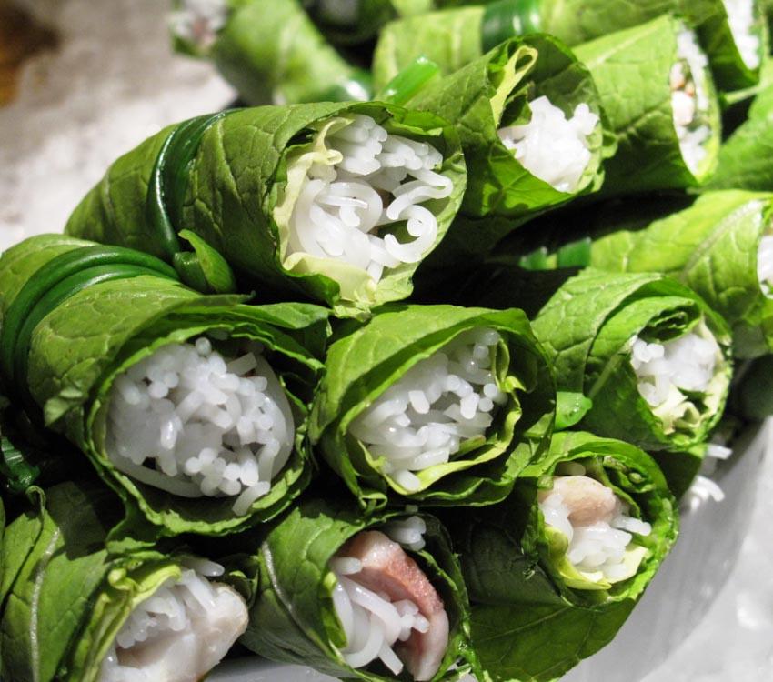 Món gỏi cuốn Việt Nam - cuốn mùa hè - 3