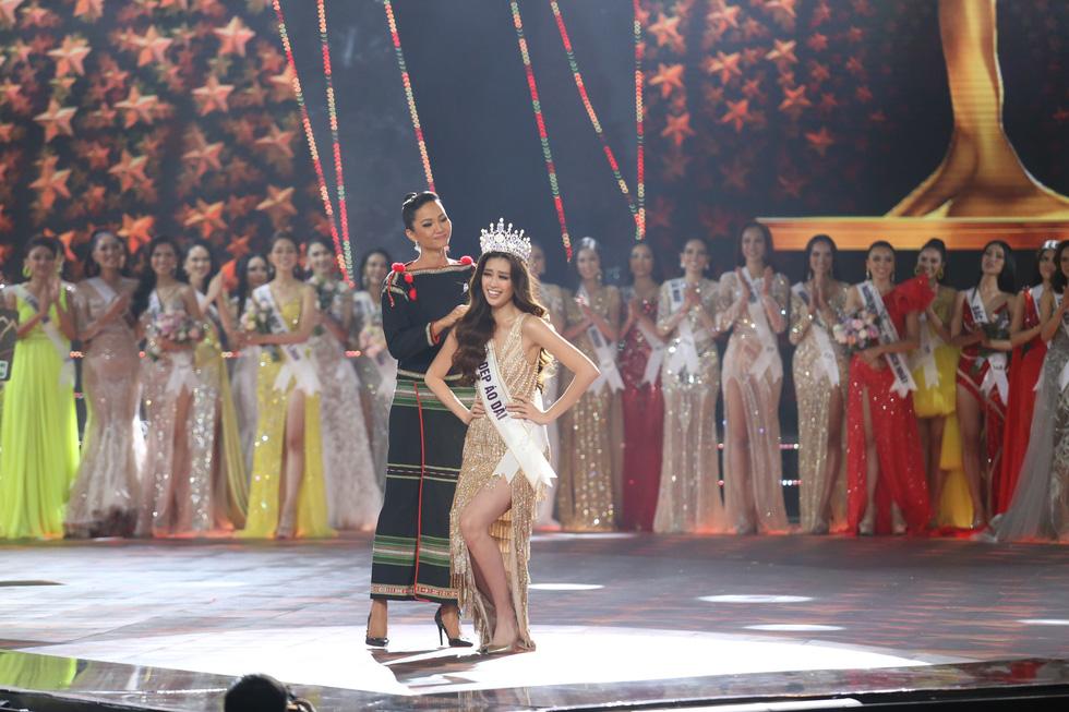 Hoa hậu Hoàn vũ Việt Nam 2019 gọi tên cô gái TP.HCM Nguyễn Trần Khánh Vân - 2