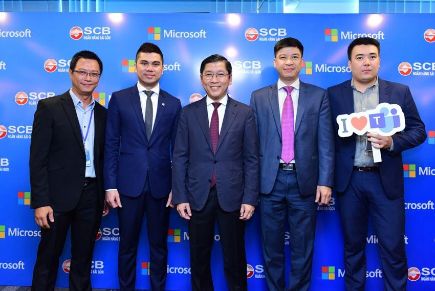 Ngân hàng SCB số hóa môi trường làm việc với ứng dụng Microsoft Teams -3